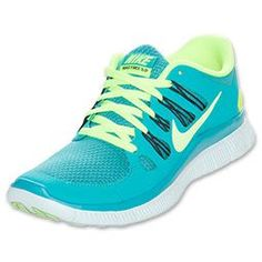 ❤                                         The Nike Free 5.0+ Running Shoes have all t...
