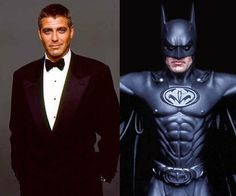 George Clooney Batman & Robin 1997.  He was given a rotten script.  He could have been SO much better.  I think Clooney was robbed.