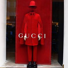 """ANTONIA MILANO, Via Cuscani, Milan, Italy, """"The special installation for Men's Fashion Week by Gucci"""", pinned by Ton van der Veer"""