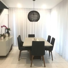 Insight Blinds & Shutters Grp on Instagram: sheer blinds in front of block out blinds Sheer Blinds, Display Homes, Shutters, Conference Room, Dining Table, Insight, Furniture, Home Decor, Instagram