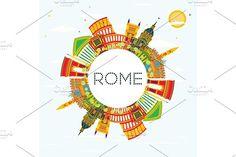 #Rome #Skyline by Igor Sorokin on @creativemarket
