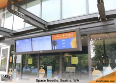 Space Needle, Seattle, WV - Digital Signage / LCD Protection ViewStation Array by ITSENCLOSURES #ViewStation