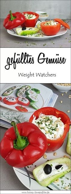 It's so easy to make delicious stuffed vegetables according to the Weight Watchers cookbook. It's so easy to make delicious stuffed vegetables according to the Weight Watchers cookbook. Weight Watchers Snacks, Plats Weight Watchers, Wight Watchers, Easy To Digest Foods, Healthy Snacks, Healthy Recipes, Healthy Life, Low Fat Yogurt, Lose Weight Quick