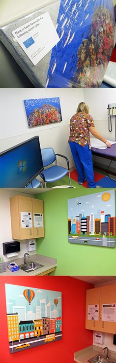 Pediatrics Room Signage Idea Door Signs Colorful Exam