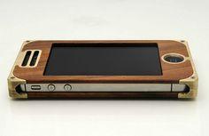 EXO15 Brass hardwood // iphone case