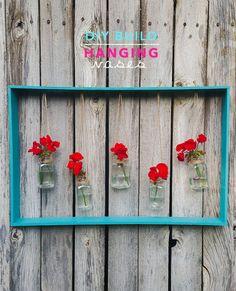 DIY Build: Hanging Vases