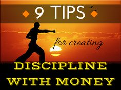 Lack of discipline with money is one of the most frequent problems my readers tell me they have. Click the Pic to learn my 9 best tips for Creating Discipline With Money #tips #discipline #money #finances http://www.cfinancialfreedom.com/9-tips-creating-discipline-with-money  Don't forget to check out my website for great savings. Thank you. :)