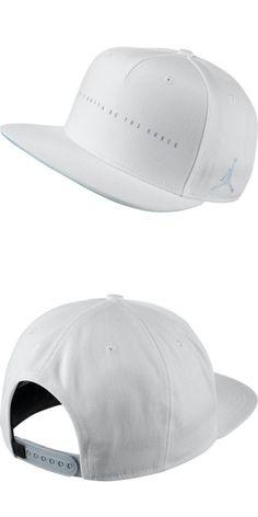 eba644696d3d5 Hats 52365  Jordan Retro 4 Unisex Snapback Hat Cap White Grey 843077-100 -   BUY IT NOW ONLY   34.95 on eBay!