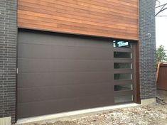Fiberglass Garage Doors-Modern Fiberglass Garage Doors installed in Modern and Luxury house in Richmond Hill