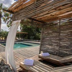 Pool at Chem Chem private game concession. Outdoor Lounge, Outdoor Decor, Game Lodge, Private Games, Natural Interior, Next Holiday, Wooden House, Cabana, Tanzania