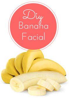 DIY All Natural Banana Facial! Use a banana to get the all natural facial you deserve!