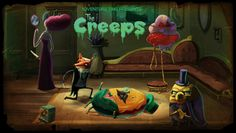 Adventure Time Title card S3Ep12 The Creeps