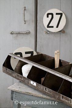 Boutique plaque maill e bureau plaques maill es et objets - Brocante industrielle en ligne ...
