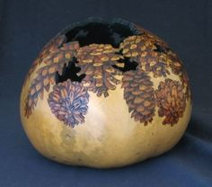 Pinecone Gourd (I am a pinecone and gourd nut) by imogene