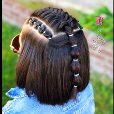 little-girl-hairstyles - Fab New Hairstyle 1 Little Boy Hairstyles, Cute Hairstyles For Kids, Kids Hairstyle, Toddler Hairstyles, Curly Hair Styles, Natural Hair Styles, Girl Hair Dos, Kid Hair, Princess Hairstyles