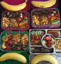 Big day! My babies started big school today! FOUR big school lunch boxes to pack for the first time! They had sausage, sweet potato, corn, cucumber, capsicum, tomato, sugar snap peas, strawberries, blueberries, pineapple, banana & a honey joy!  #cutoutthecrap #backtoschool #glutenfree #dairyfree #preservativefree #additivefree #lunch #lunchbox #lunchboxideas #lunchboxsolutions #kidsfood #schoolfood #grateful #foodideas #foodie #yum #delicious #noexcuses #nocomplaints #yumbox #planetbox