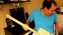 Como construir uma guitarra elétrica