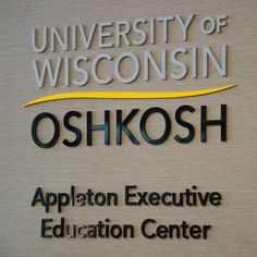 UW Oshkosh College of Business Appleton Executive Education center!