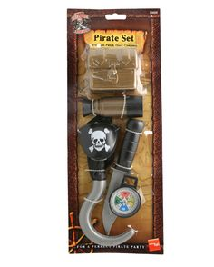 Piraten Set 6-teilig #Pirate #PirateCostume #PirateAccessories