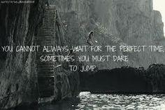 Live on the edge && Take chances <3