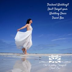 Thailand Wedding!! Don't Forget your Wedding Dress Travel Box   #weddingtravelboxes.com.au  #www.facebook.com/weddingstorageandtravelbox