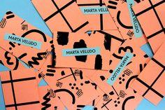 tinylittleme:  Marta Veludo Business Cards