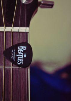 Púa para guitarra: The Beatles.