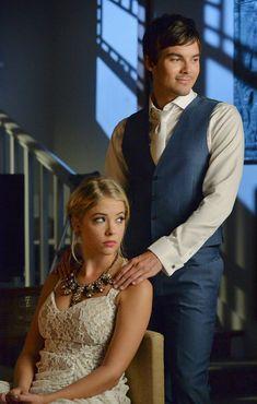 """#PLL 5x13 """"How the 'A' Stole Christmas"""" - Hanna and Caleb"""