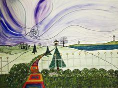Surrealism - Watercolor/Ink