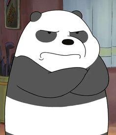 we bare bears We Bare Bears Wallpapers, Panda Wallpapers, Cute Cartoon Wallpapers, Cute Wallpaper Backgrounds, Ice Bear We Bare Bears, We Bear, Cartoon Icons, Cartoon Memes, Bear Meme