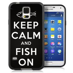 Funny Keep Calm Fish On Mobile Phone Cases Bags OEM For Samsung S4 S5 S6 S7 edge plus Note 2 Note 3 Note 4 Note 5 Soft Cover