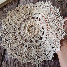 Crochet Doily / Texturé Crochet Nappely / Dentelle Crochet | Etsy