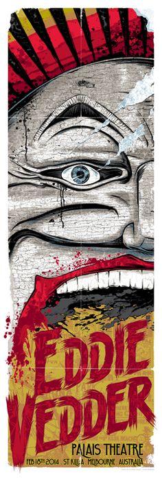 Eddie Vedder - Rhys Cooper - 2014 ----