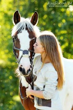 Horse & Her....it would be nice for her to kiss me soft and tender too