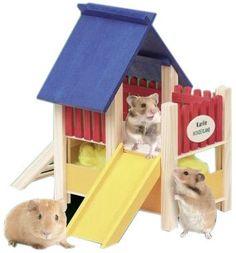 Karlie Wonderland Playground with Slide Karlie http://www.amazon.co.uk/dp/B00140QJ7S/ref=cm_sw_r_pi_dp_uwi3vb1KFGN51