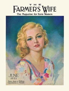 June, 1933 The Farmers Wife Magazine Cover