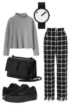 """Untitled #276"" by ninaellie on Polyvore featuring Vans, Rosendahl and Yves Saint Laurent"