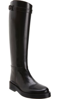 Ann Demeulemeester Riding Boot  AWESOME ¡¡¡ she's the best!!!