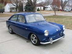 LOVE! 1969 Volkswagen Fastback