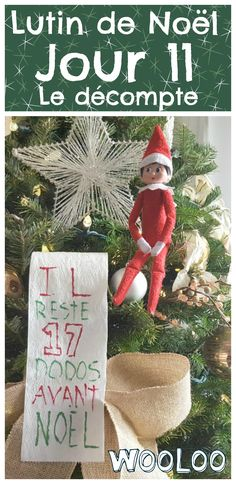 Tout le monde connait l'amour que les lutins portent au papier de toilette. Ils en ont mis dans le sapin, à travers les escaliers et ce matin, nous avons trouvé ce drôle décompte de Noël fait sur un long bout de papier…#lutins #elfontheshelf #christmas #noel