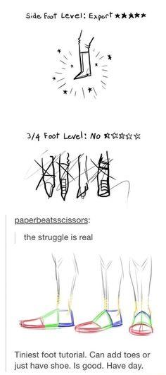 Drawing Techniques, Drawing Tutorials, Art Tutorials, Drawing Poses, Drawing Tips, Drawing Ideas, Drawing Drawing, Drawing Stuff, Shoe Drawing