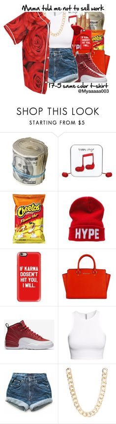 Cleaning my Drafts... by myaaaaa003 ❤ liked on Polyvore featuring Happy Plugs, CO, Casetify, NIKE, HM, Levis and Jane Norman