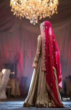 Desi bride #PerfectMuslimWedding.com