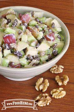 Waldorf Salad   Food Hero - Healthy Recipes that are Fast, Fun and Inexpensive