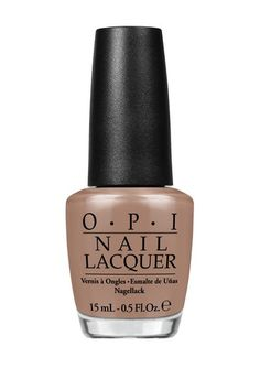 Over the Taupe Nail Lacquer by OPI on @HauteLook