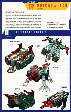 Transformers Universe - Gallery: G1 Quickswitch