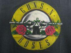 Vintage Tshirt - Guns N Roses - Appetite for Destruction - RARE '87 Tour - Large #vintage #tshirts #gunsnroses | $99
