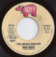 Too Much Heaven / Bee Gees / #1 on Billboard 1979