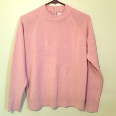 Tan sweater Worn once, zipper back of neck, too short for me. 100% acrylic By design Sweaters Crew & Scoop Necks