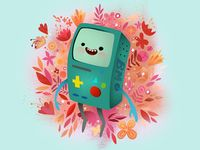Bmo mine designed by Dave Mottram. Connect with them on Dribbble; the global community for designers and creative professionals. Bear Character, Character Design, Watch Adventure Time, Person Drawing, World Of Gumball, Visual Development, Creature Design, Box Design, Amazing Art